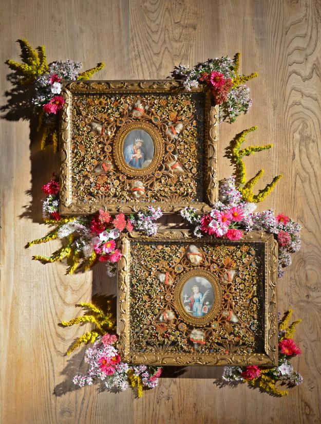 The exquisite rolled paper art of Carmelite nuns