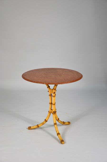 Pub Table with Stone Top - A11250