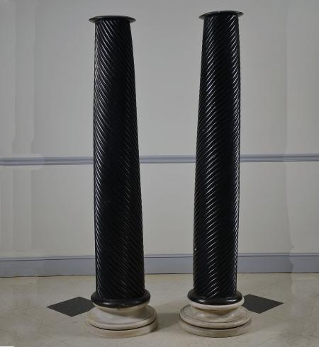 Pair of William IV Spiral Columns - R15140