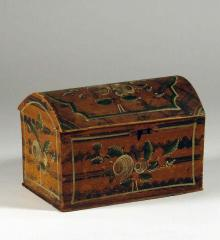 Small Painted Box - A12609