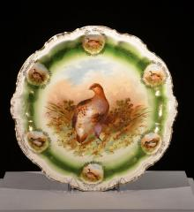 Decorated Serving Plate - A14309