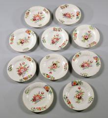 Set of Ten Plates - A15082