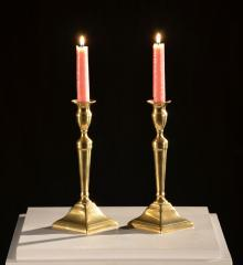 Pair of Brass Candle Sticks - A15469