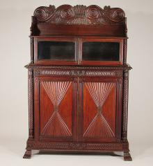 Carved Bookcase - R12067