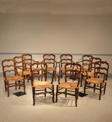 Set of Ten Armchairs - R14402