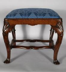 Superb George II Walnut Stool - R16614