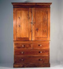 Pine Linen Press Cupboard - RA11915