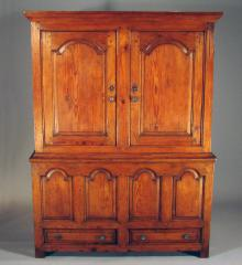 Arched Panel Livery Cupboard - RA12461